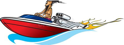Boat Safety Clipart by Speed Boat Maniac Stock Illustration Illustration Of