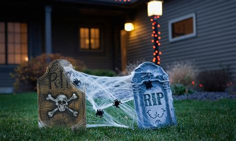 outdoor halloween decorations party pieces blog
