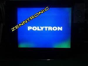 Zenntronic  Tv Polytron Slim 29 U0026quot Gangguan Warna Dipinggir