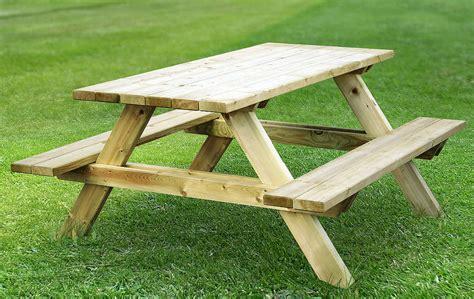 Picknicktisch Selber Bauen by Wie Seinen Eigenen Picknicktisch Baut Heimwerker Tipps