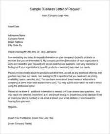 request letter format