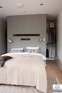 13 Creative Walk in Wardrobe Behind Bed Designs - Bedroom