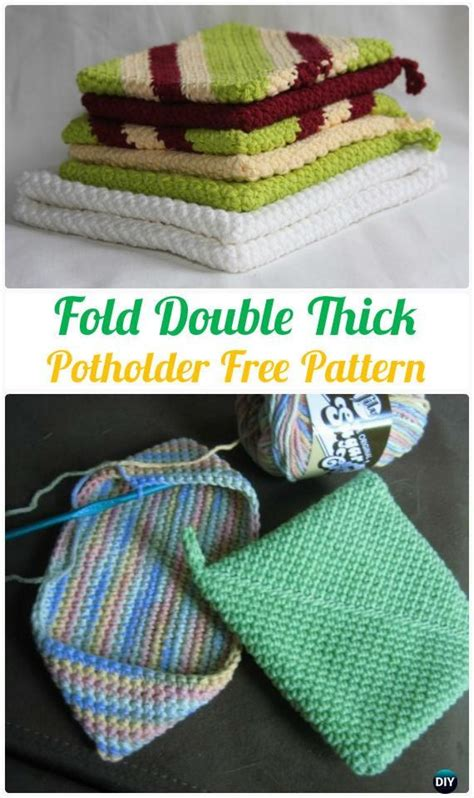 Kitchen Towels And Hotpads by Crochet Pot Holder Hotpad Free Patterns Potholders Free
