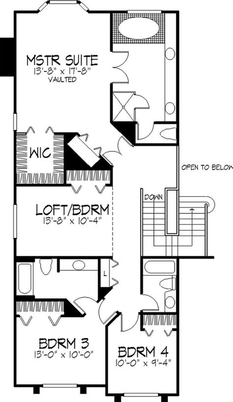 multi level house floor plans multi level house plans country house plans 1 1 2