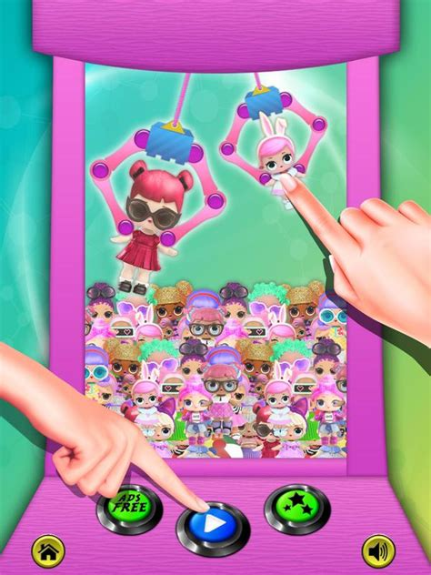 lol surprise doll toy claw machine  android apk