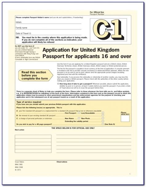 renew passport forms  universal network
