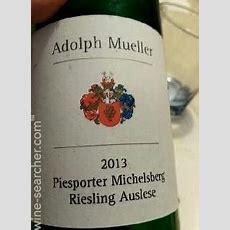 Adolph Mueller Piesporter Michelsburg Riesling