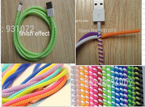 Headphone Wire Spiral by Aliexpress Buy Plastic Spiral Cord Protector Wrap