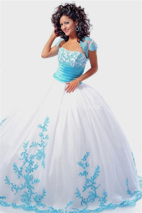 Light Pink Quince Dresses by Blue And White Quinceanera Dresses Naf Dresses