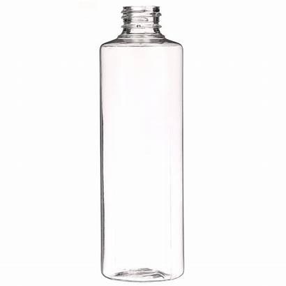 Plastic Clear Bottle Pet Cylinder Round Oz