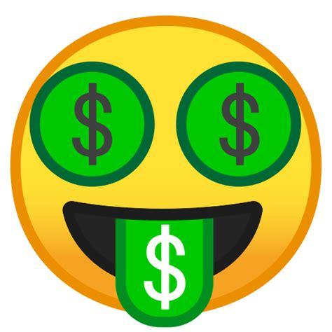 foto de Cara Con Lengua De Dinero Emoji