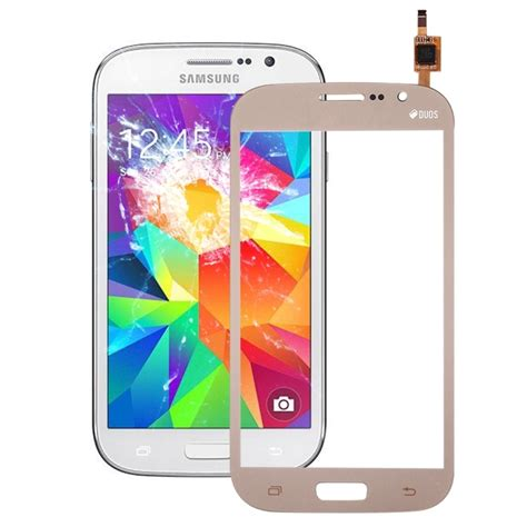 replacement for samsung galaxy grand neo plus i9060i touch screen digitizer assembly gold