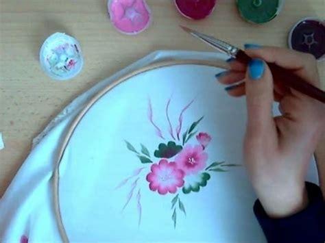 dipingere sulla stoffa corso  principianti youtube