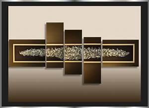Bilder Auf Leinwand Kaufen : mk1 art bild leinwand abstrakt gem lde acryl malerei bilder modern braun xxl ebay ~ Markanthonyermac.com Haus und Dekorationen