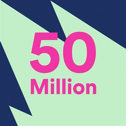 Million Spotify Subscribers 50m Subscriber Number Hits