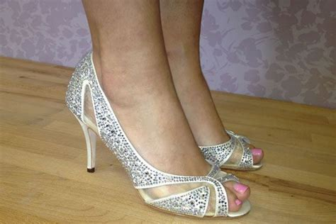 heel wedding shoes ideas  pinterest
