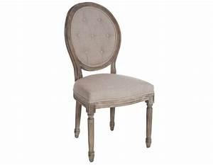 Chaise Capitonnée Taupe : chaise medaillon capitonnee ~ Teatrodelosmanantiales.com Idées de Décoration