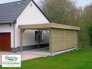 Construire Un Carport : carport abri de voiture contemporain en bois concept abri ~ Premium-room.com Idées de Décoration