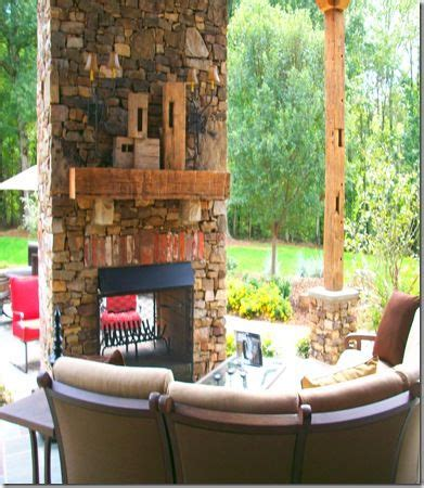 2 Sided Outdoor Fireplace - two sided outdoor fireplace the great outdoors
