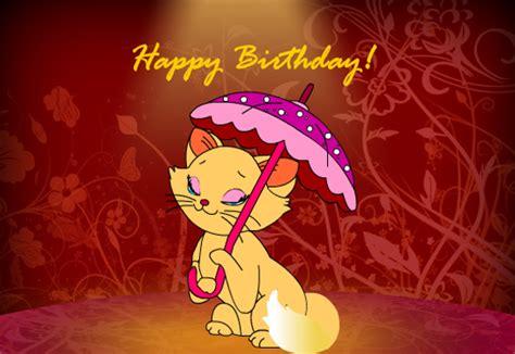 cute kitty birthday wishes  happy birthday ecards greeting cards