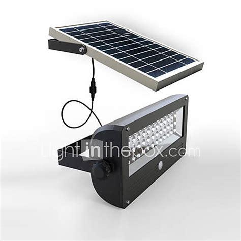 pir motion sensor solar light solar led wall light
