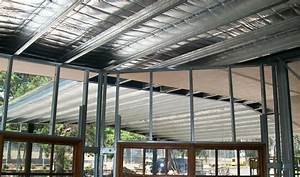 Boxspan Steel Rafters Purlins For Skillion Or Cathedral