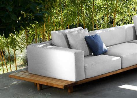 teak coffee tribu vis a vis corner garden sofa tribu outdoor