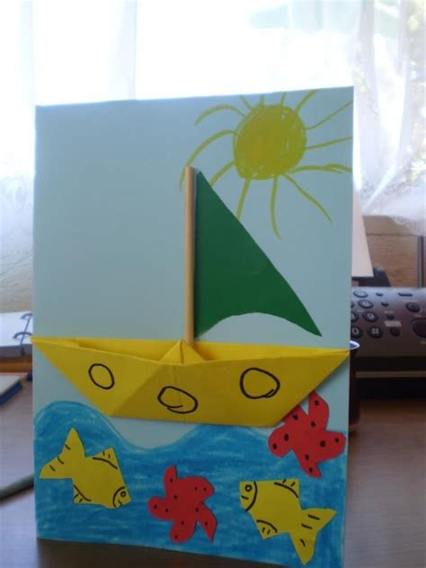Boat Pictures For Kindergarten by Boat Craft Activities Pictures