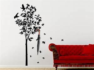 Baum Als Garderobe : wandtattoo garderobe ahornbaum mit wandhaken wandtattoo de ~ Buech-reservation.com Haus und Dekorationen