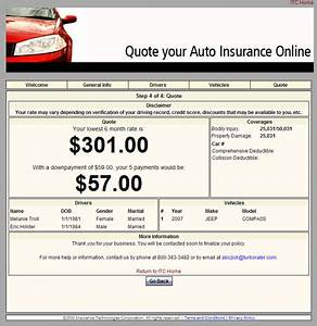 Offer Online Au... Provide Insurance Quotes