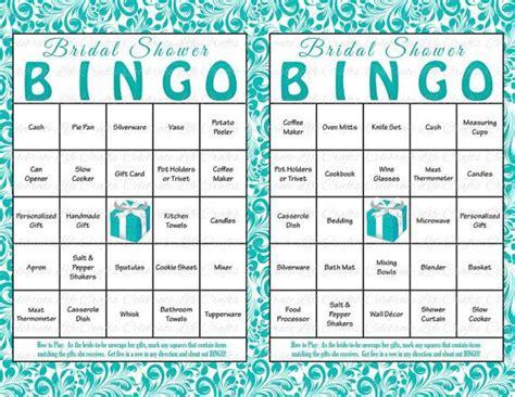 best 25 bridal shower bingo ideas on pinterest