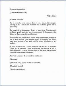 Lettre Du Président Aux Français : exemple de lettre de recommandation lettre de recommandation ~ Medecine-chirurgie-esthetiques.com Avis de Voitures