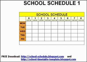 10 Class Schedule Maker - Sampletemplatess