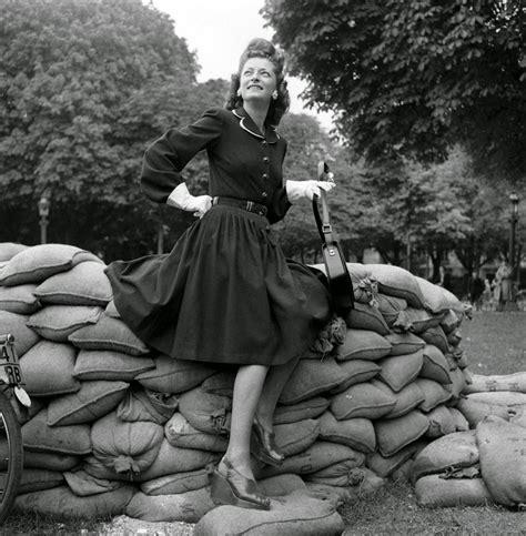 beautiful womens fashion  post liberation paris