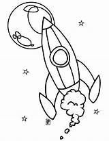 Rocket Coloring Ship Moon Spaceship Drawing Star Pages Rockets Space Wars Getdrawings Colornimbus sketch template