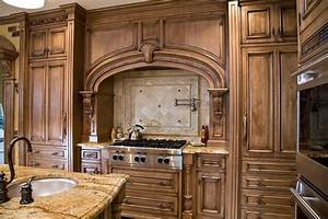 tuscan kitchen design nj - Traditional - Kitchen - newark