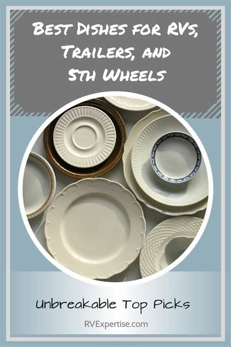 rv dishes dinnerware melamine sets kitchen living camping rvexpertise