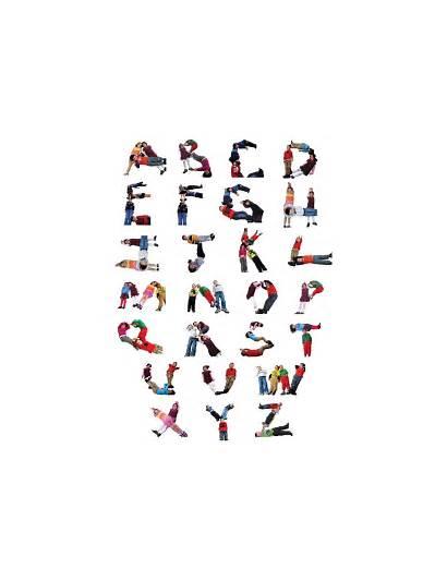 Alphabet Letters Preschool Child Human Abc 112