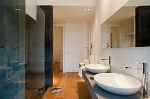 parquet flottant conseils et idees pour sol de salle de bain With parquet flottant moderne