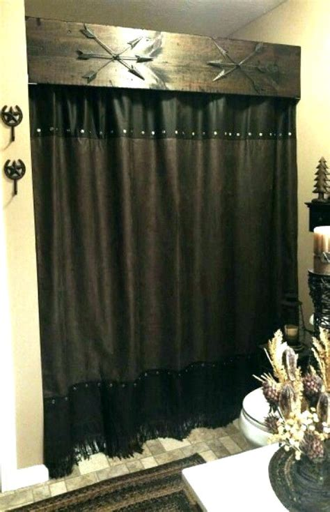 black and brown shower curtain size of showerthe yellow cape cod boys bathroom