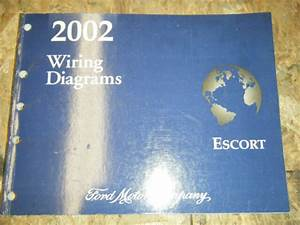 2002 Ford Escort Factory Electrical Wiring Diagram Service