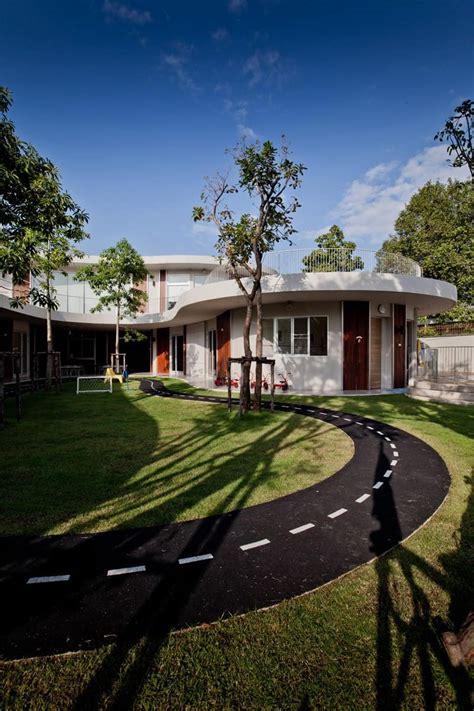 top 10 amazing modern kindergartens where your children 762   kensington international kindergarten plan architect