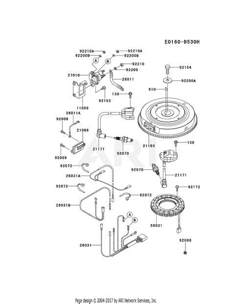 Kawasaki Fsv Stroke Engine Parts Diagram