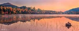 A, Misty, Morning, In, Cornery, Pond
