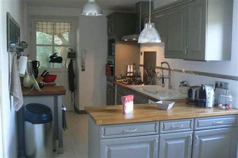 armoires de cuisine qu饕ec une cuisine rénovée du beau avec de l ancien cuisine