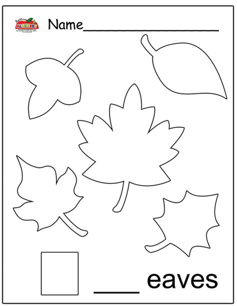 letter l activities preschool lesson plans 976 | Leaves Worksheet