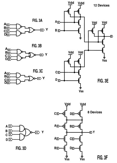 Serial Lighting Diagram by Patent Us6297668 Serial Device Compaction For Improving