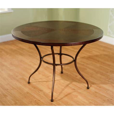 round metal dining table walmart com