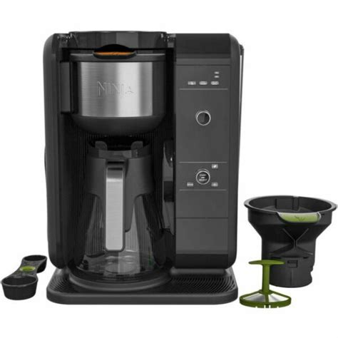Ninja coffee brewer is a 12 cup programmable coffee maker with custom brew technology to ensure your coffee is hot, flavorful, and never bitter. Ninja CP301A 10-Cups Coffee Maker - Black for sale online   eBay