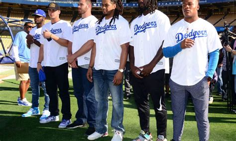 rams trip   dodgers game